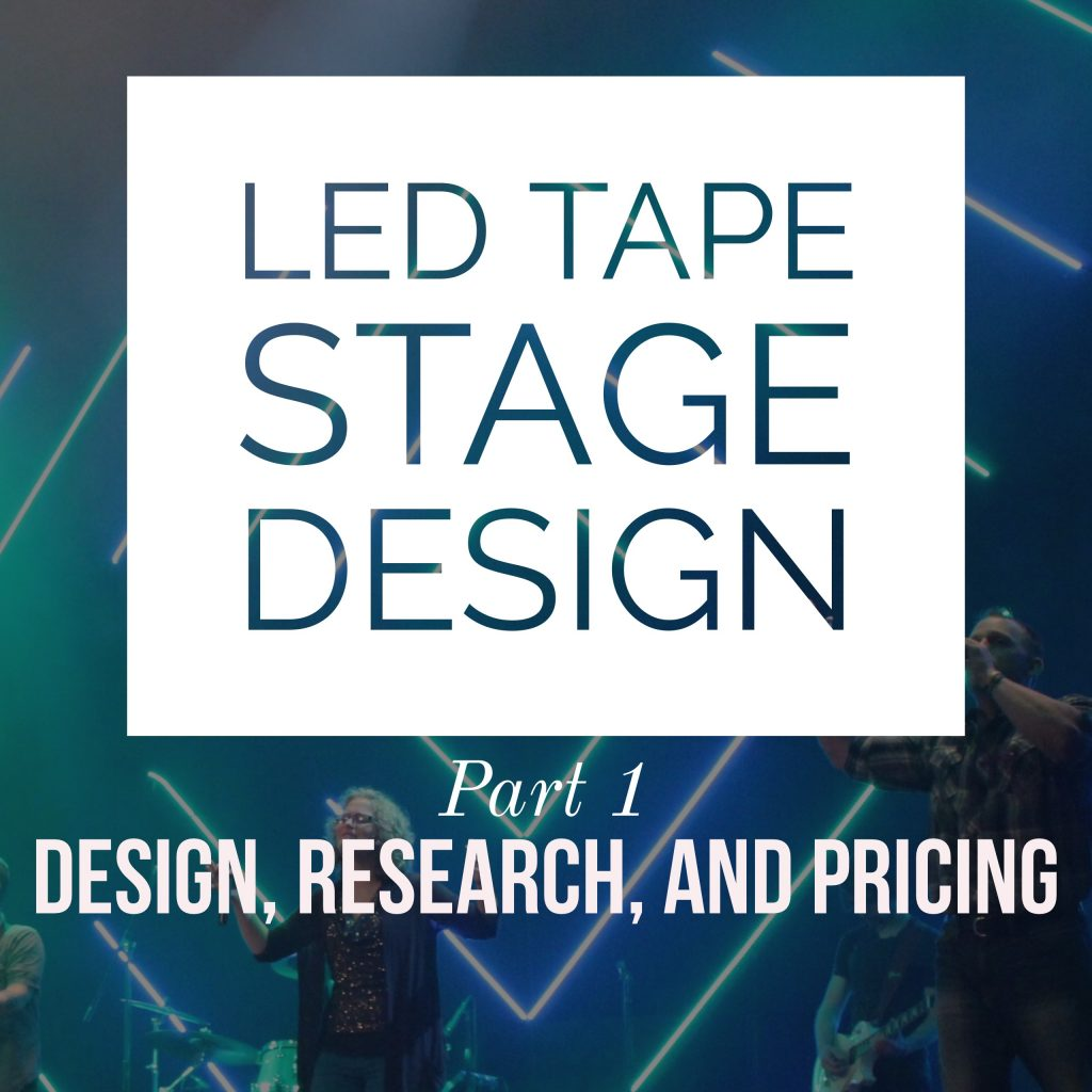 diagram, mx7000 led pixel tape stage design part 1: design, research,  and pricing on bar