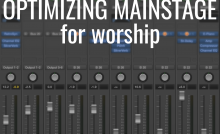 Worship Synth MainStage Keyboard Setup | Ry, the Church Tech Guy